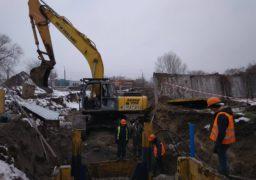 У Черкасах триває реконструкція головного каналізаційного колектора