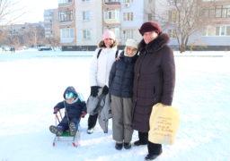 Черкащини радіють сніжній погоді та першим морозам
