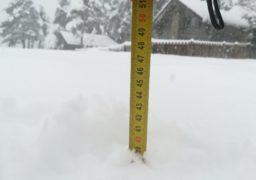 Станом на 21 січня на Черкащині висота сніжного покриву у 4 рази перевищує норму