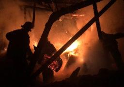 Рятувальники ліквідували чергову пожежу у Смілянському міському парку