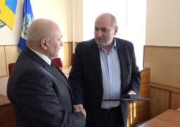 Міський голова Кам'янки отримав відзнаку Верховної Ради
