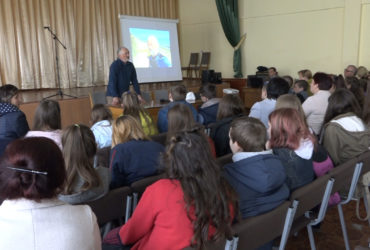 Відомий мандрівник, фахівець із екстремального виживання Сергій Гордієнко завітав у Смілу