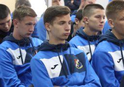 Міський голова зустрівся з гравцями і тренерами МСК «Дніпро»