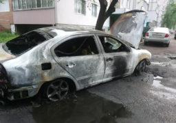 У Черкасах внаслідок підпалу згорів автомобіль
