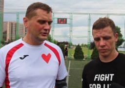 У Черкасах відбувся товариський матч у пам'ять про померлих від СНІДу