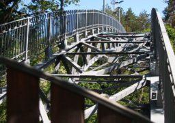 """У парку """"Сосновий бір"""" усе ще триває ремонт """"мосту кохання"""""""