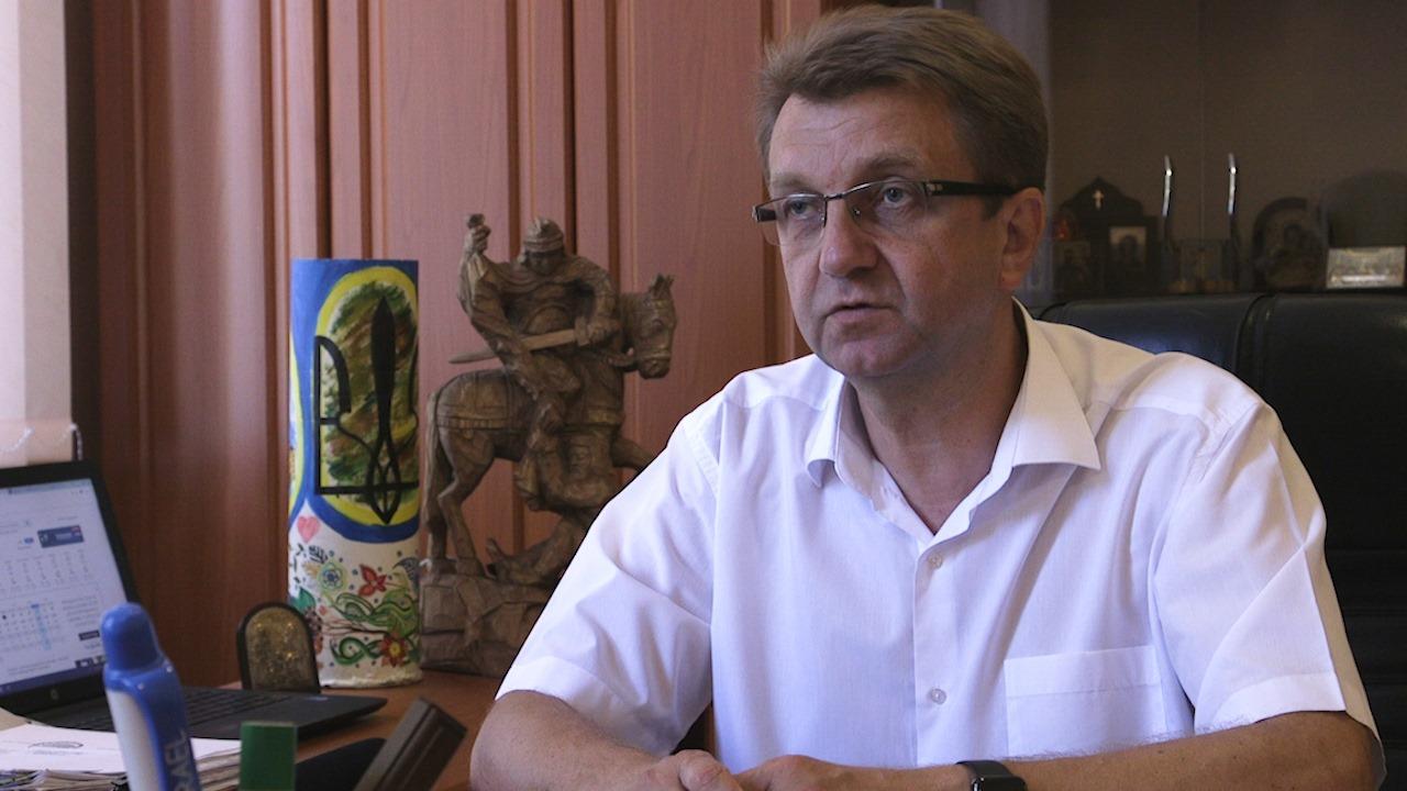 Віталій Войцеховський міський голова Золотоноші