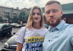 У розпалі агітаційна кампанія Дмитра Кухарчука, який прогнав Порошенка з Черкас