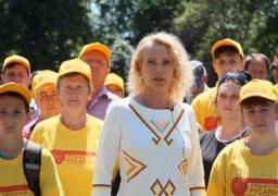 Людмила Русаліна закликає разом змінювати життя країни