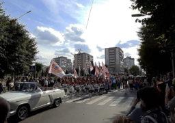 Вулицею Байди Вишневецького пройшов Марш Єдності та Дружби