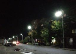 На вулиці Остафія Дашкевича модернізували систему освітлення – старі лампи замінили на світлодіодні