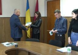 8 жовтня міський голова Сміли Олексій Цибко урочисто привітав юристів міського виконавчого комітету з професійним святом