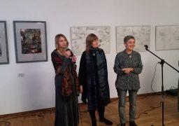 В обласному художньому музеї відкрилася виставка робіт художниць-інтровертів