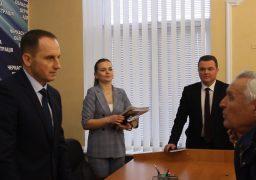 Новий очільник Черкащини місяць спостерігатиме за роботою заступників Лебедцова і Карпенка
