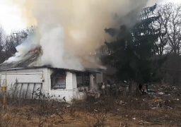 На Черкащині чоловік загинув під час пожежі