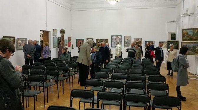 У Художньому музеї відкрилась Різдвяна виставка