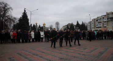Урочистості з нагоди Дня Соборності відбулися у Черкасах