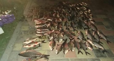 Поблизу річкового вокзалу у Черкасах упіймали порушника з рибою на 12 тисяч гривень