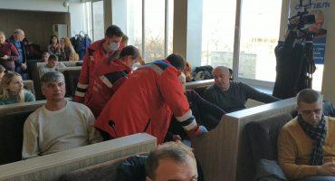 Депутату Згіблову викликали швидку прямо до зали засідань