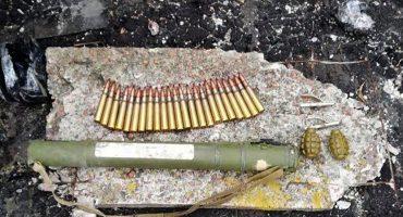 У Черкасах СБУ попередила незаконний збут військових засобів ураження: гранатомету, двох гранат та понад 20 набоїв до великокаліберного кулемета