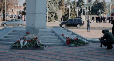 На вшанування пам'яті Героїв Небесної сотні прийшли в основному бюджетники та чиновники