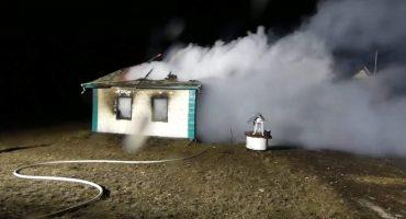 Через порушення правил експлуатації печей у Сигнаївці згоріла хата