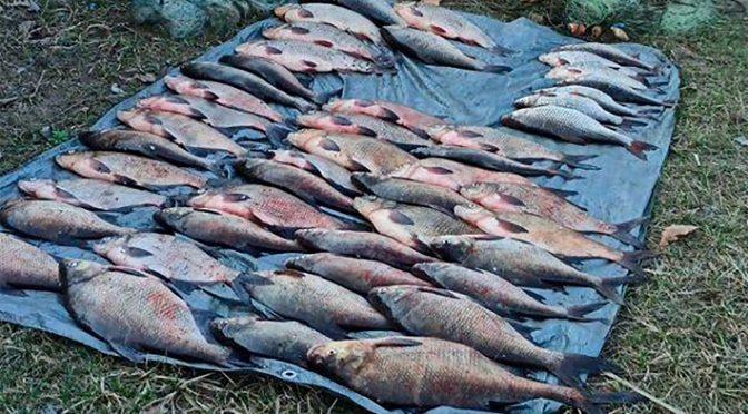 На території Роського іхтіологічного заказника затримали браконьєра