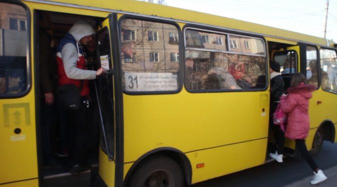 Черкащани не дотримуються обмежень перевезень у пасажирському транспорті