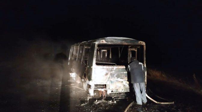 На Смілянщині під час руху загорівся автобус ТОВ «АГРО-РОСЬ»