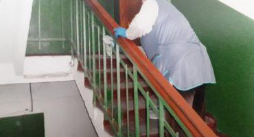 Мешканцям черкаських багатоповерхівок нададуть розчини для самостійної дезінфекції під'їздів