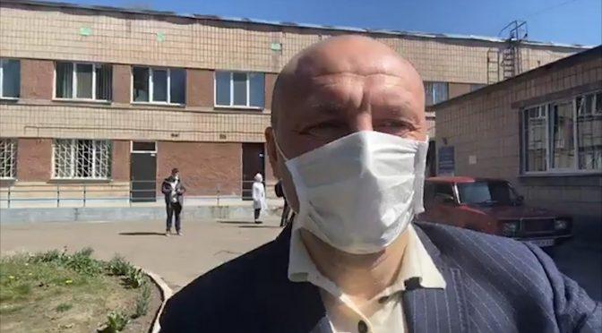 Анатолій Бондаренко відвідав міську інфекційну лікарню