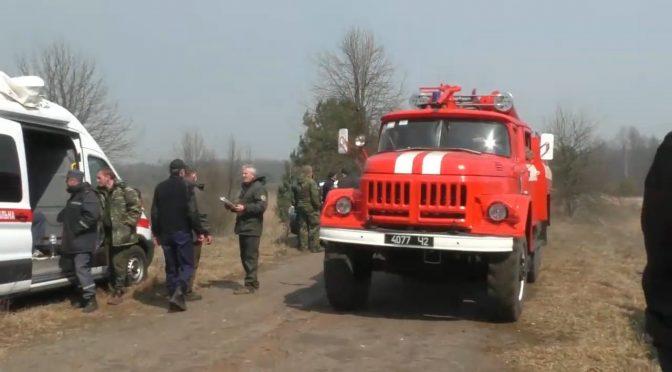 Рятувальників Черкащини залучили до  гасіння масштабних лісових пожеж на Житомирщині