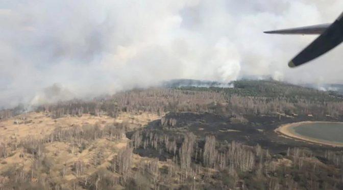 Нагородити рятувальників-черкащан, що ліквідовують пожежу в Чорнобилі, запропонував член виконкому Ігор Зайчук