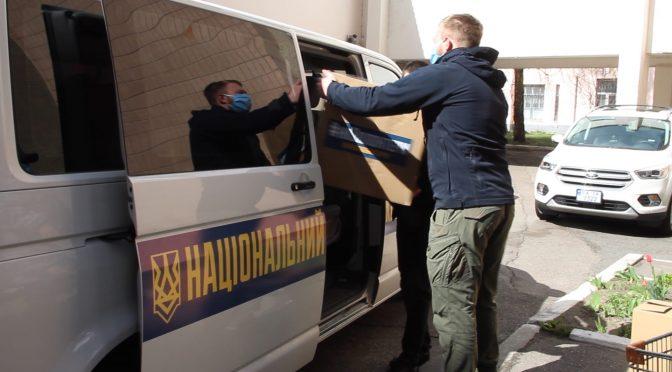 Волонтери «Національного корпусу» привезли допомогу медикам  обласної лікарні