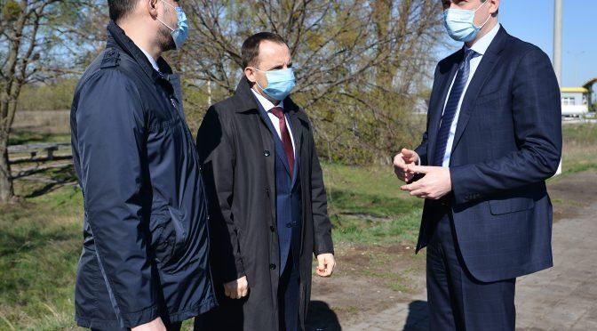Міністр розвитку громад та територій України Олексій Чернишов відвідав із робочою поїздкою Черкаську область
