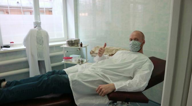 Представники Національного Корпусу стали донорами крові для Черкаської обласної лікарні