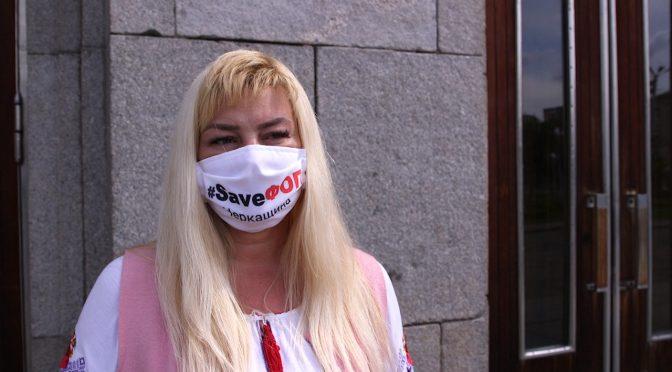 Черкаська підприємиця оголосила голодування: через відсутність обіцяної державної підтримки вона може залишитися без бізнесу і майна