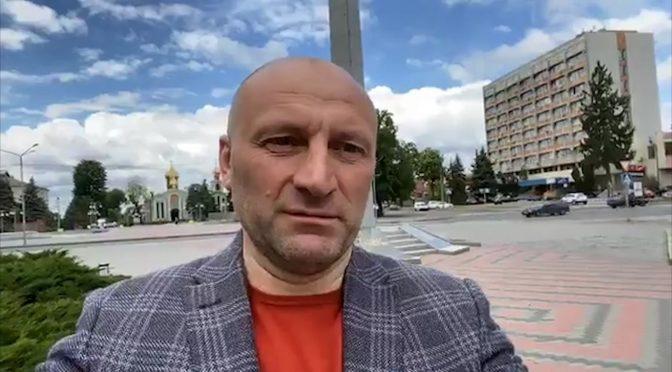 Бондаренко – Зеленському: Вам немає чого ловити в Черкасах