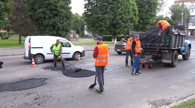 У Смілі розпочали ремонтувати дороги