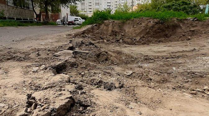 Не середмістям єдиним: у Черкасах ремонтують тротуари