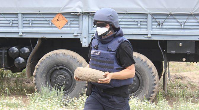У Черкасах на Митниці знайшли 122-міліметровий снаряд часів Другої світової
