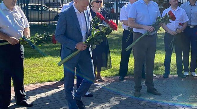 Анатолій Бондаренко напередодні Дня Конституції вшанував пам'ять Михайла Сироти