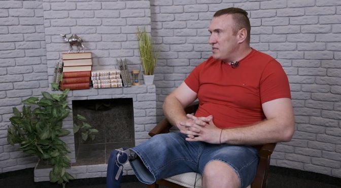 В Студії Антени найсильніший спортсмен Черкас Сергій Прядка. Чому найсильніший? Дивіться ефір!