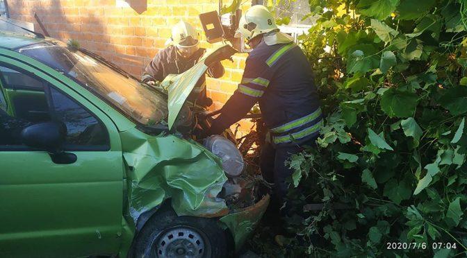 повідомлення про дорожньо-транспортну пригоду за участі автомобіля Daweo matiz, що трапилася в селі Благодатне