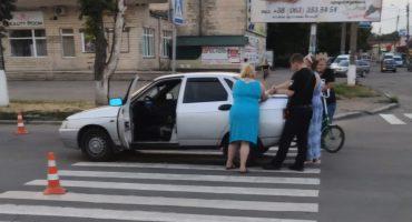 У Смілі водійка збила дітей на переході
