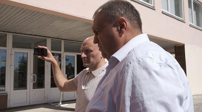 Анатолій Бондаренко та Павло Карась показали черкащанам парк оновленої техніки тепловиків Черкас