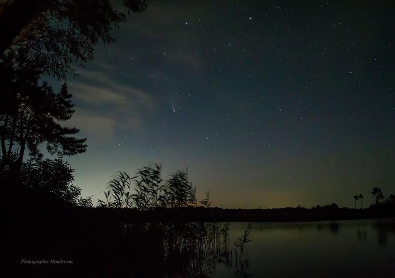 ніч, Черкащина, комета,