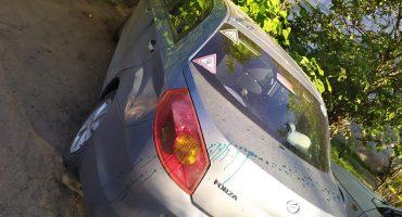 Черкаському журналісту Олександру Носенку облили зеленкою автівку – найімовірніше, за професійну діяльність