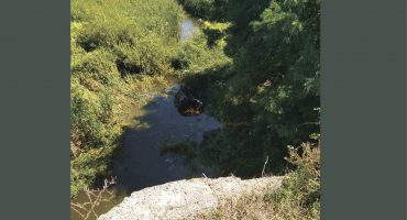 На Уманщині медики рятували чоловіка, який на автомобілі заїхав у річку