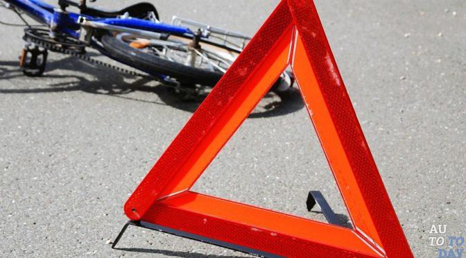 У Черкасах у ДТП постраждав велосипедист. У критичному стані його доправили до лікарні